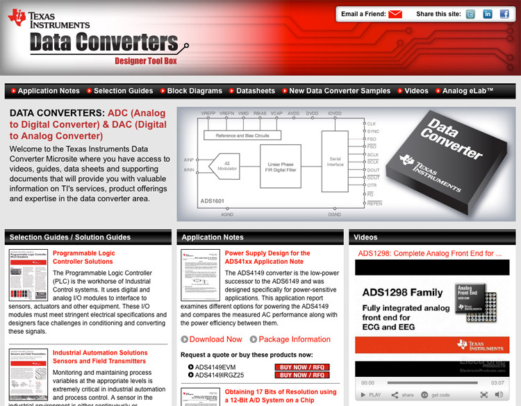 Electronic Products Website